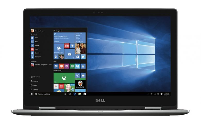 صورة Dell Inspiron 2-in-1 15.6″ Touch-Screen Laptop
